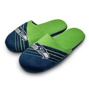 Forever Collectibles Seattle Seahawks Big Logo Slippers, Small