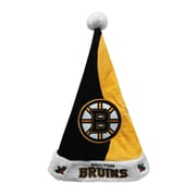 Forever Collectibles Boston Bruins Team Santa Hat