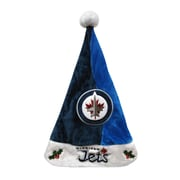 Forever Collectibles Winnipeg Jets Team Santa Hat