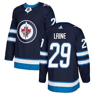 adidas Winnipeg Jets Patrick Laine NHL Authentic Pro Home Jersey, Large