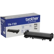 Brother – Cartouche de toner noir TN730, rendement standard (TN730)