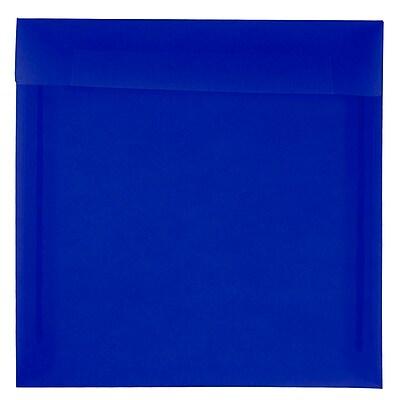 JAM Paper® 8.5 x 8.5 Square Envelopes, Purple Translucent Vellum, 25/pack (1592167)