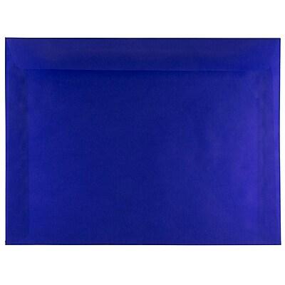 JAM Paper® 9 x 12 Booklet Envelopes, Purple Translucent Vellum, 25/pack (1592188)