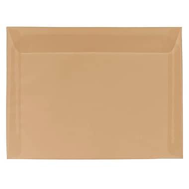 JAM Paper® 9 x 12 Booklet Envelopes, Spring Ochre Ivory Translucent Vellum, 25/pack (1592179)