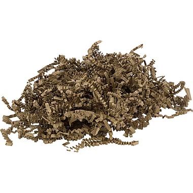 JAM Paper® Shred Tissue Paper Krinkeleen, 2 oz., Kraft Brown, Sold Individually (1192454)