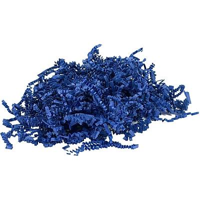 JAM Paper® Shred Tissue Paper Krinkeleen, 2 oz., Presidential Blue, Sold Individually (1192469)