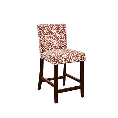 Linon Loren Lava Counter Stool (STCA4341)