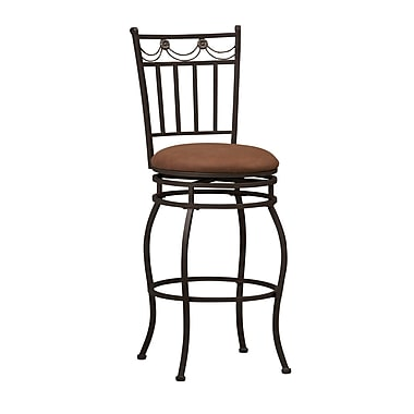 Linon Davis Swag Back Bar Stool (STCA4231)