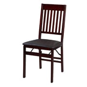 Linon Harris Mission Back Folding Chairs, 2/Pack (STCA4041)