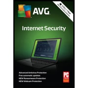 AVG Internet Security 2018, 3 Users, 1 Year