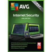 AVG Internet Security 2018, Unlimited Users, 1 Year