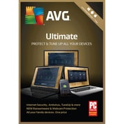 AVG Ultimate 2018, Unlimited Users, 1 Year
