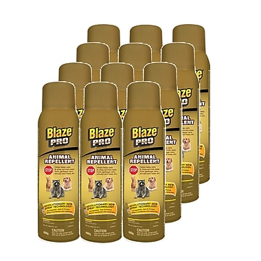 Blaze Pro Animal Repellent, 400g, 12/Pack (99815-12)