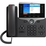 Cisco 8861 IP Phone, Cable, Wall Mountable, Desktop, Charcoal (CP-8861-3PCC-K9=)