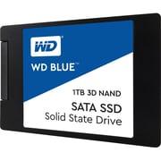 """WD Blue 3D NAND 1TB PC SSD, SATA III 6 Gb/s 2.5""""/7mm Solid State Drive (WDS100T2B0A)"""