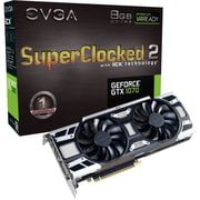EVGA GeForce GTX 1070 Graphic Card, 1.59 GHz Core, 1.78 GHz Boost Clock, 8 GB GDDR5, Dual Slot Space Required (08G-P4-6573-KR)
