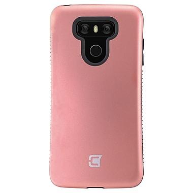 Caseco - Étui Shock Express pour LG G6, rose doré