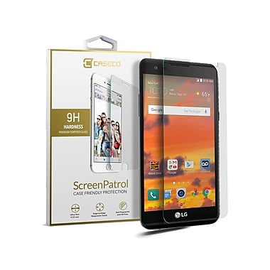 Caseco Screen Patrol Tempered Glass, LG X Power