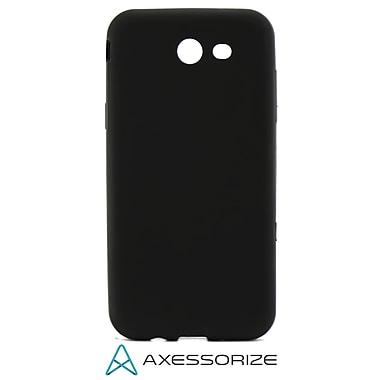 Axessorize - Étui gel et protecteur d'écran en verre trempé pour Samsung Galaxy J3 Prime, noir (SAM2600)