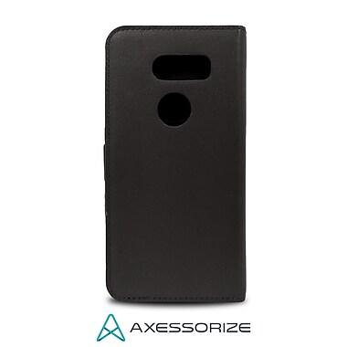 Axessorize – Étui folio pour LG V30, noir (FOLV30,N)