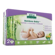 Aleva® Bamboo Baby Diapers, Size 2, 30/Pack (37845)