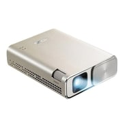 ASUS® ZenBeam Go E1Z WVGA 854 x 480 DLP Projector, Icicle Gold
