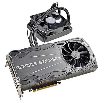 EVGA® GeForce GTX 1080 Ti FTW3 PCI Express 3.0 11GB GDDR5X Hybrid Gaming Graphic Card