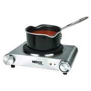 Nesco® Electric Single Burner, Silver (SB-01)