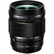 Olympus® M.Zuiko Digital ED 25 mm f/1.2 PRO Lens, Black (V311080BU000)