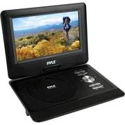 Pyle® PDV101BK Anti Shock Function Portable CD/DVD Player, Black