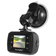 SecurityMan® CARCAMMICRO Micro HD Car Camera Recorder with Built-In Impact Sensor, Black