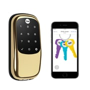 Yale® Real Living Assure Lock Touchscreen Keypad with Bluetooth, Polished Brass (YRD446-NR-605)