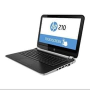 Refurbished HP 210G1 Touch Notebook Webcam, HDMI, Bluetooth 4.0, Intel Core i3-4010U 1.70 GHz dual-core processor (17VFHPLP0269)