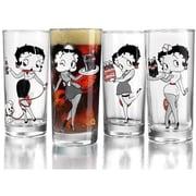 Luminarc – Verres Coca-Cola, Betty Boop, 15,25 oz, 4/paquet
