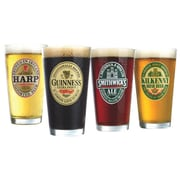 Luminarc Irish Beer Pub Glasses Collection 16 oz, 4/Pack