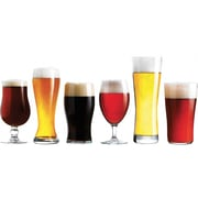 Trudeau® Assorted Craft Brew Beer Glasses, 6/Pack