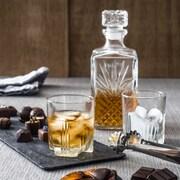 Bormioli Rocco – Ensemble de décanteur à Whisky Selecta, 7 morceaux