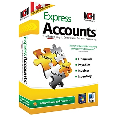 NCH Software Express Accounts Accountings Software Staples - Invoice software nch