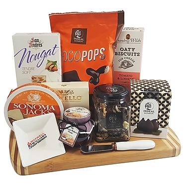 Dolce & Gourmando – Panier-cadeau avec planche à fromage