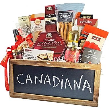 Dolce & Gourmando – Panier-cadeau gourmet Canadiana