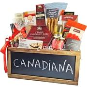 Dolce & Gourmando Canadiana Gourmet Gift Basket