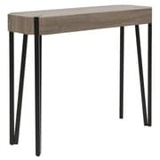 !nspire Faux Oak and Metal Accent Table (502-505RC)
