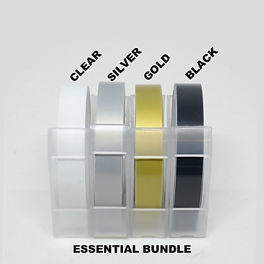 Wamaco Motex Embossing Tape Essential, Assorted, 8 Rolls/Pack(38-1932)