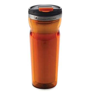 Maxwell & Williams Hot & Cold Travel Mug, Orange