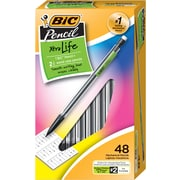 BIC Xtra Life Mech Pencil, 0.7mm, 48/Pack (MP48BLK)