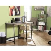 Homestar Gemelli Writing Desk & 4 Shelves Bookcase Duo, Reclaimed Wood Finish
