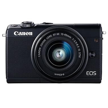 Canon - Appareil photo numérique EOS M100, 24,2 MP, 15-45 mm, noir