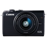 Canon EOS M100 Digital Camera, 24.2MP, 15-45mm, Black