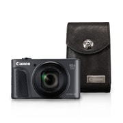 Canon PowerShot SX730 HS Digital Camera, 20.3 MP, 40x Zoom, Black with Case
