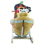 Rockabye Ahoy Doggie Pirate Ship Rocker (85034)
